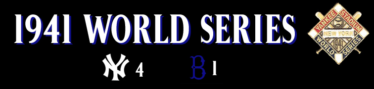 Series >> WorldSeriesRings.net - 1941