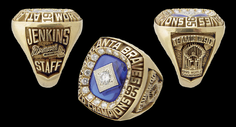 Braves World Series Ring